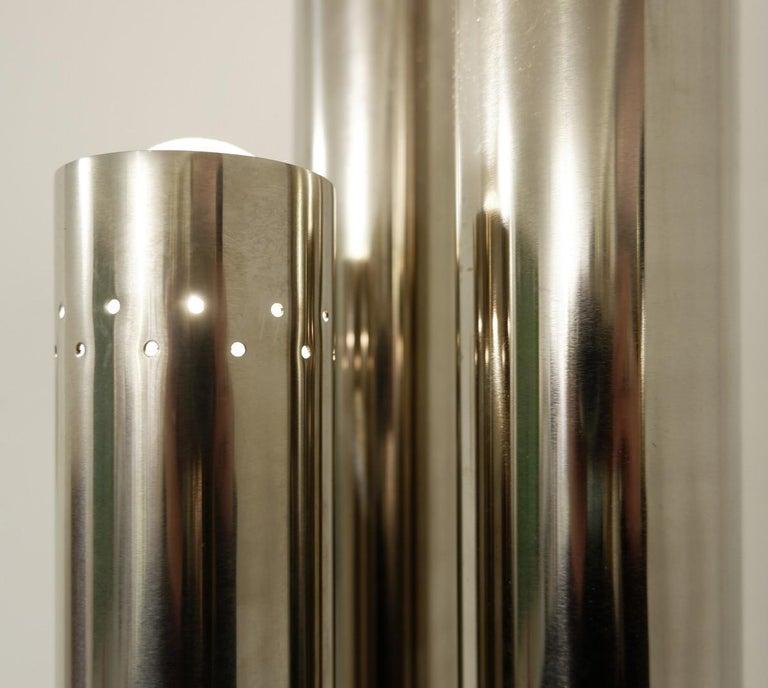 Mid-Century Modern Chrome Tubes Floor Lamp, 1970s For Sale
