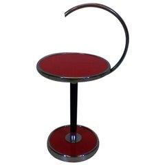 Chromed Coffee Table by Jindřich Halabala, 1930s, Funkcionalism