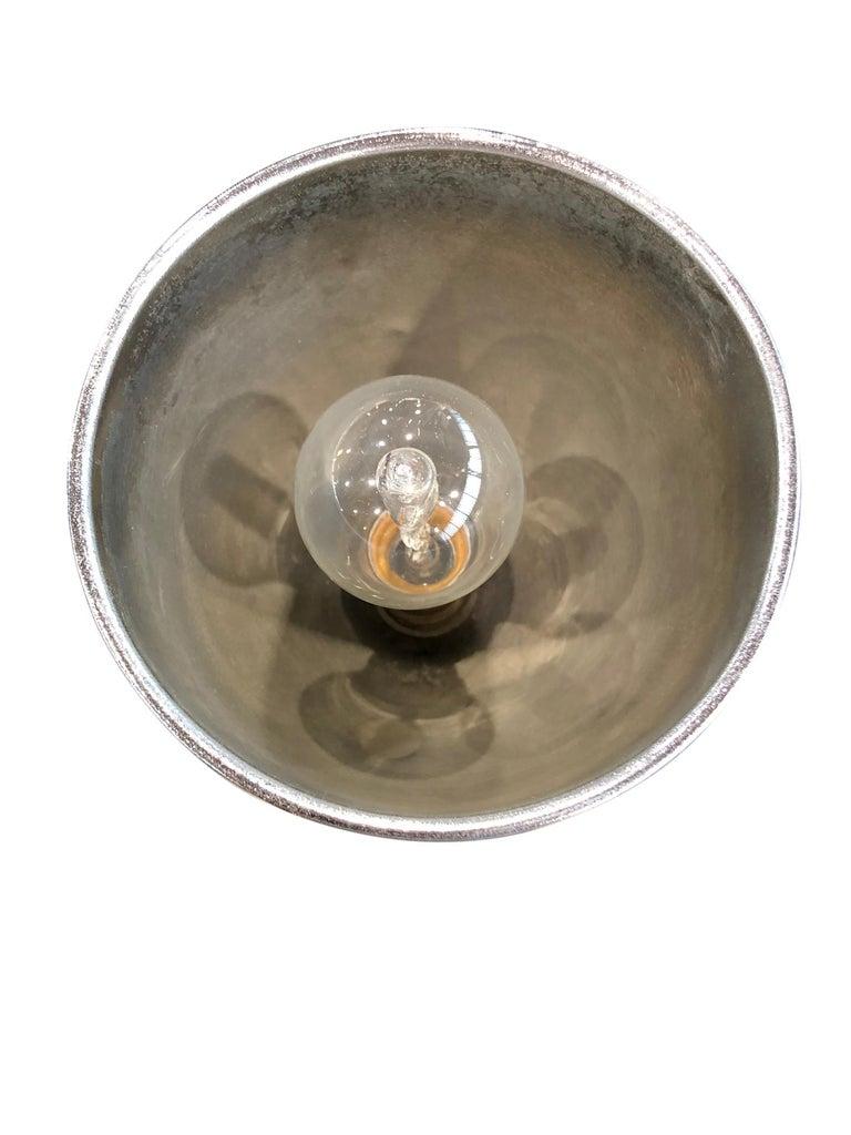 French Chromed Table Lamp with Orange Bakelite, Art Deco, France, 1930s For Sale