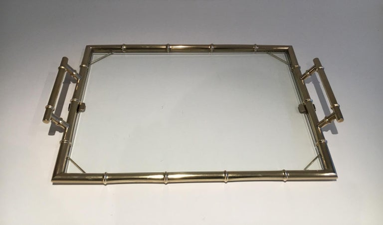 Chromed Tray, circa 1970 For Sale 3