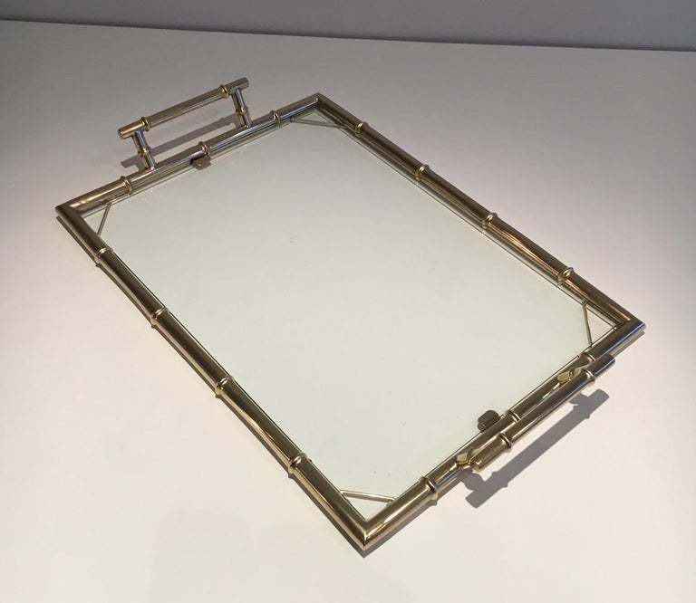 Chromed Tray, circa 1970 For Sale 4