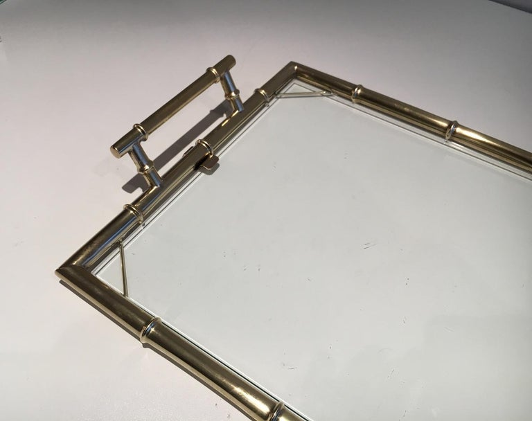 Chromed Tray, circa 1970 In Good Condition For Sale In Marcq-en-Baroeul, FR