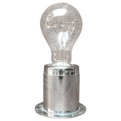 Chromed wall lamp Mod. SP15 by Gino Sarfatti for Arteluce, 1960