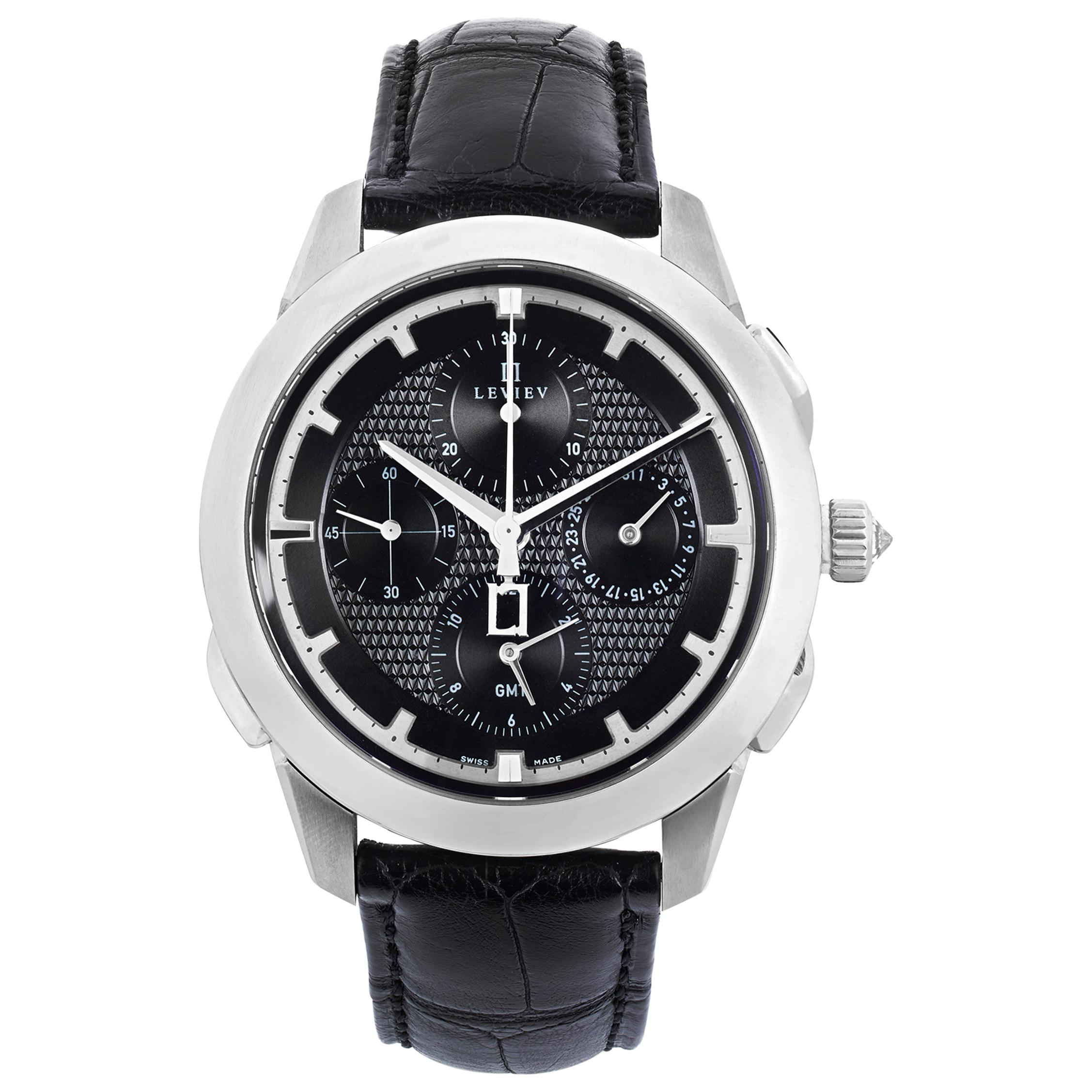 Chronograph Self-Winding Wristwatch