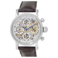 CHRONOSWISS Opus CH7523, Silver Dial, Certified and Warranty