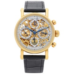 ChronoSwiss Opus, Yellow Gold Skeleton Chronograph Watch
