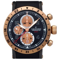 Chronoswiss Timemaster CH-7535RGST, Black Dial, Certified and Warranty