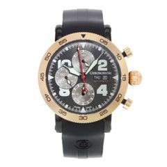 Chronoswiss Timemaster Steel 18 Karat Gold Automatic Men's Watch CH-9045R/71-2