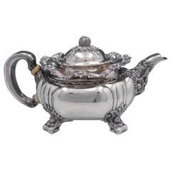 Chrysanthemum by Tiffany & Co. Sterling Silver Tea Pot #52907121 '#4131'