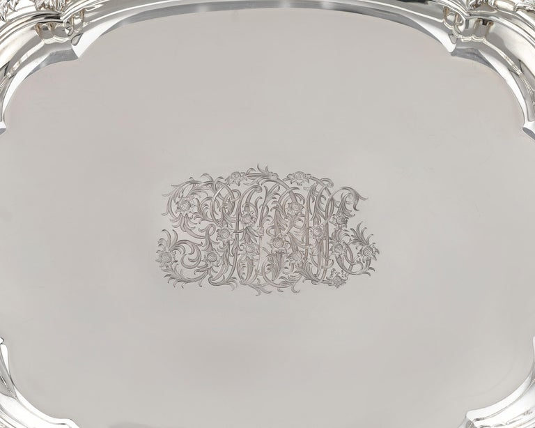 Sterling Silver Chrysanthemum Covered Soup Tureen by Tiffany & Co. For Sale