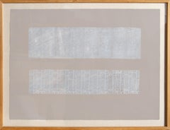American Newsprint, Monoprint by Chryssa
