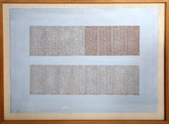 Classified Ad, Monoprint by Chryssa