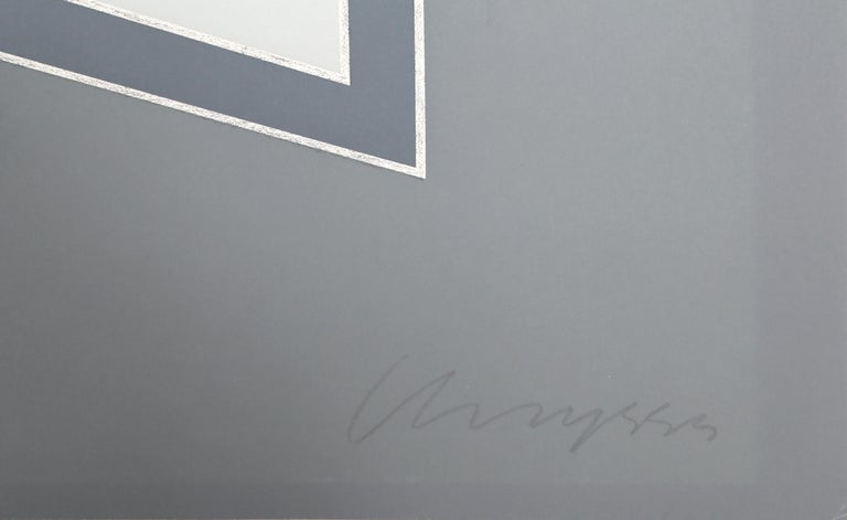 Times Square Fragment #4 - Abstract Geometric Print by Chryssa Vardea-Mavromichali