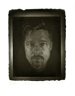Chuck Close, Brad, Photography, Woodburytype, portrait of Brad Pitt
