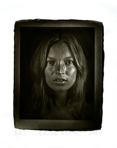 Chuck Close, Kate, Photography, Woodburytype, portrait of Kate Moss