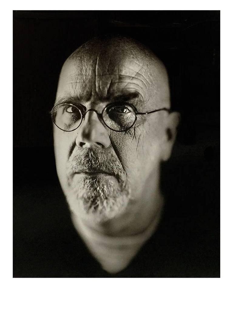 SELF PORTRAIT 2 - Photograph by Chuck Close