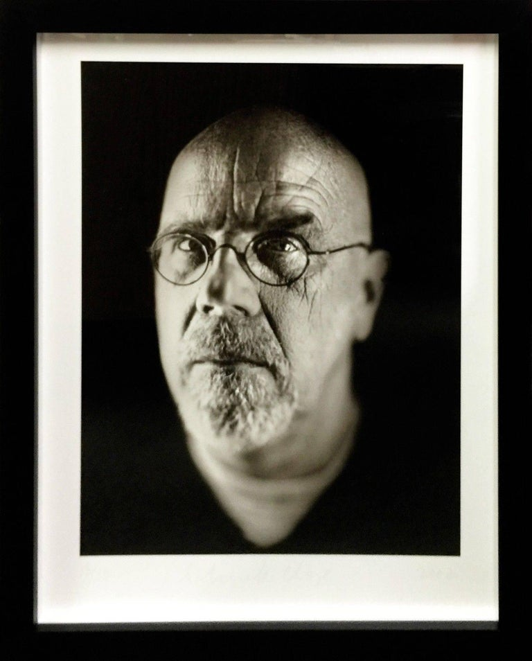 Chuck Close Portrait Photograph - SELF PORTRAIT 2