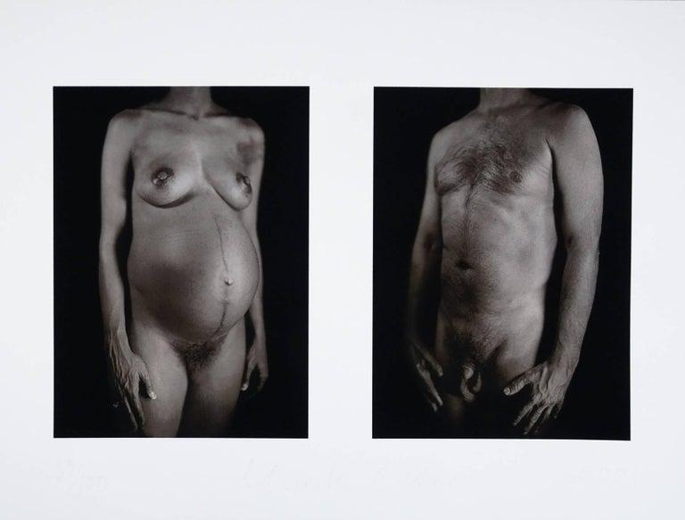 Chuck Close Figurative Print - Untitled (Daguerrotype), Contemporary Art, American Painter