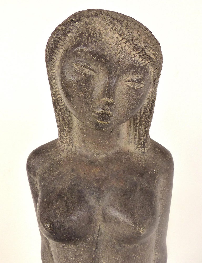 Chuck Dodson was an architect turned sculptor that was a resident artist at the Grove House in Coconut Grove, FL. His sculptures were predominantly of female nudes and erotica and he often used his wife Danielle, a retired ballerina as his muse.