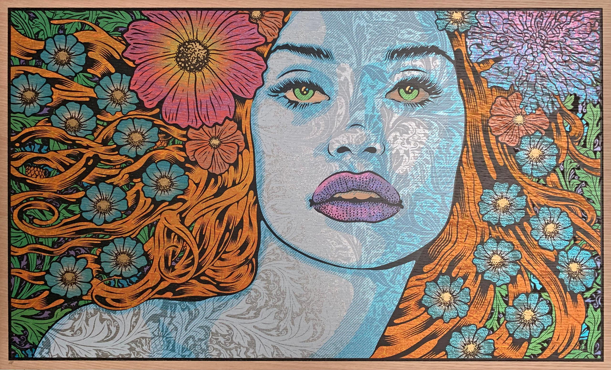 Chuck Sperry - Chloris - Contemporary Pop Art