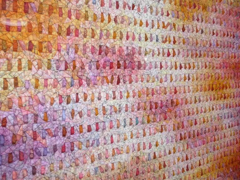 Aggregation 15 - Contemporary Mixed Media Art by Chun Kwang Young