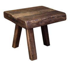 Chunky Massive Side Table or Stool