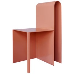 Ch'up Contemporary Chair in Aluminium by Suárez Ahedo Design Studio