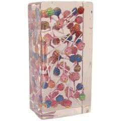 Chupa Chups Lollipop 3D Resin Art