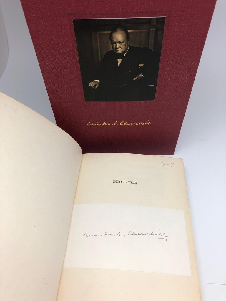 British Churchill Speeches, Signed by Churchill, First and Early Editions, 1941-1948 For Sale