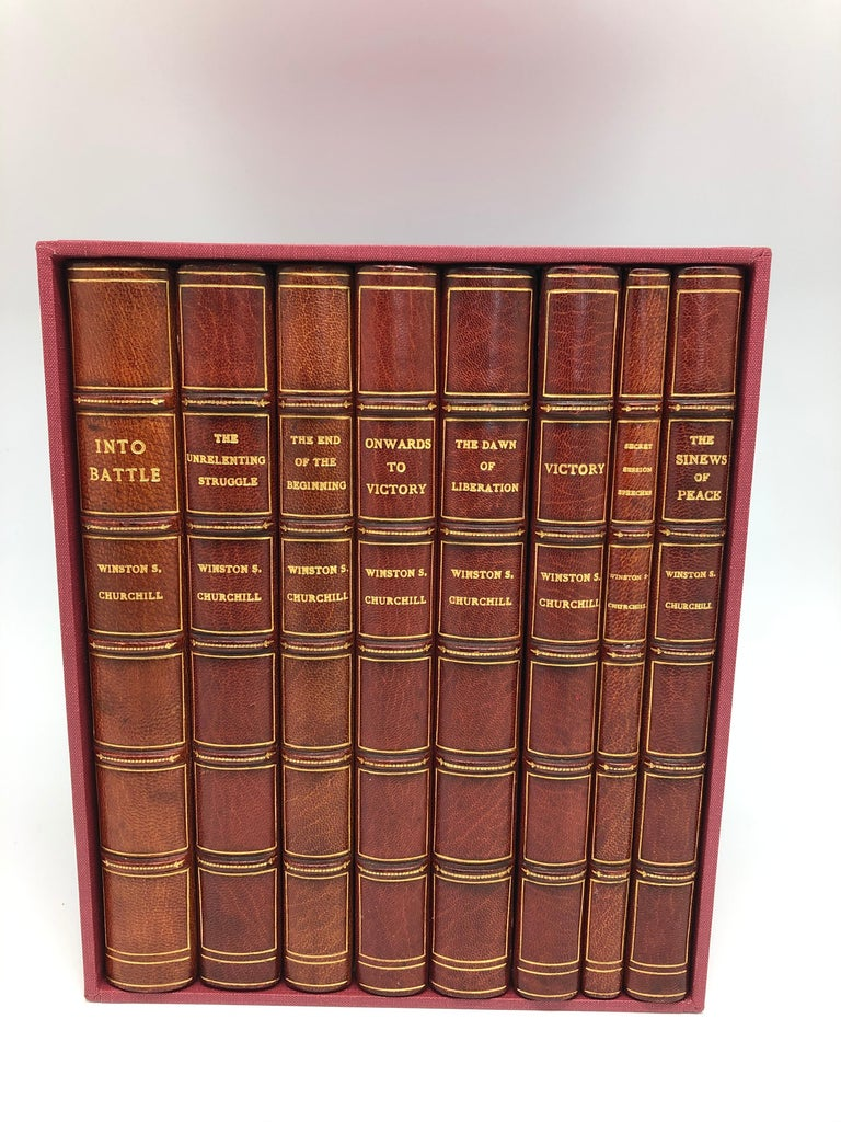 Mid-20th Century Churchill Speeches, Signed by Churchill, First and Early Editions, 1941-1948 For Sale