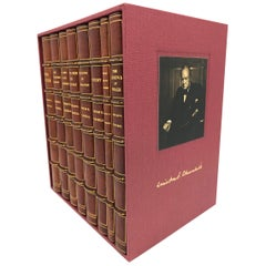 Churchill Speeches, Signed by Churchill, First and Early Editions, 1941-1948