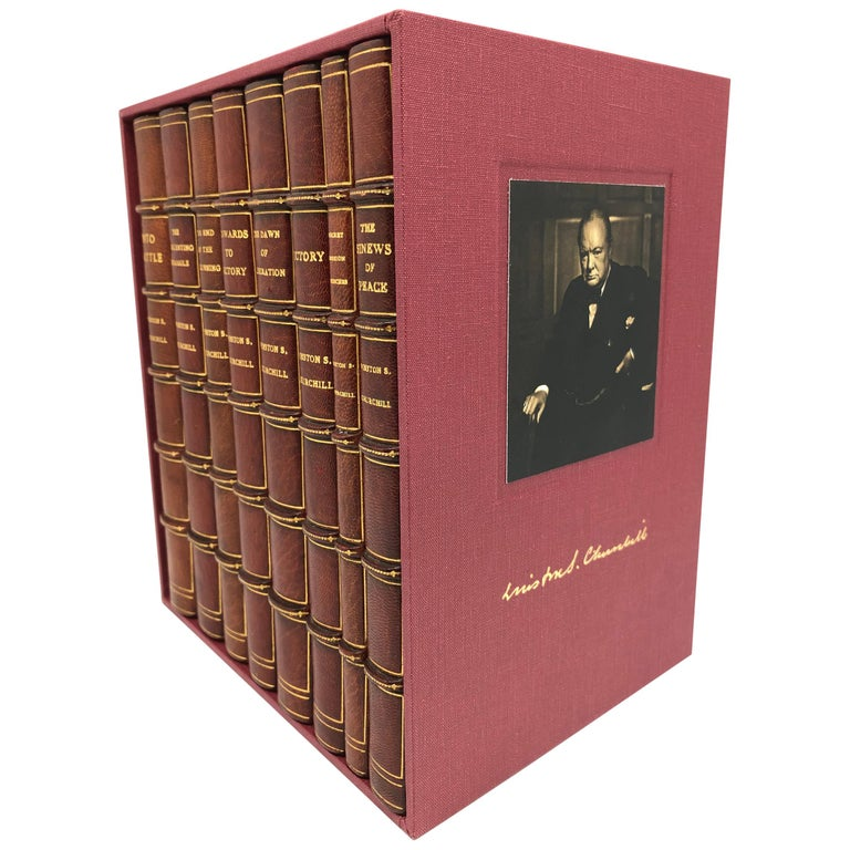 Churchill Speeches, Signed by Churchill, First and Early Editions, 1941-1948 For Sale