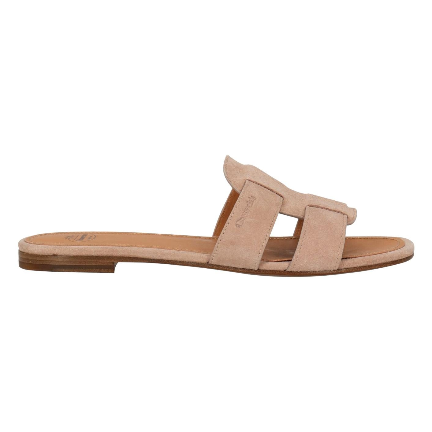 Church'S Woman Slippers Pink Leather IT 38