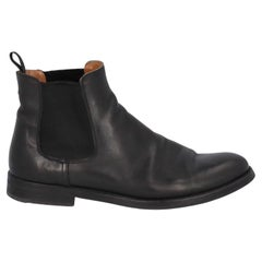 Church'S Women Ankle boots Black Leather EU 37.5