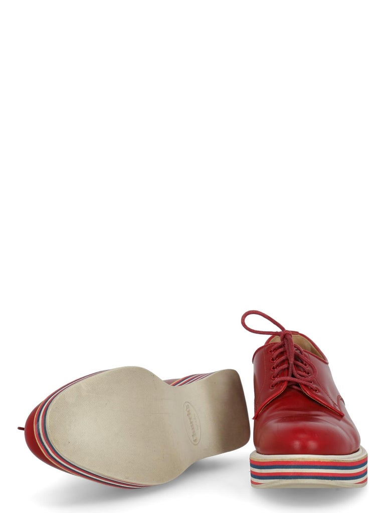 Women's Church'S  Women   Lace-up  Red Leather EU 37 For Sale