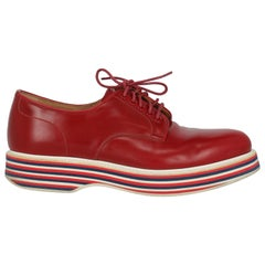 Church'S  Women   Lace-up  Red Leather EU 37