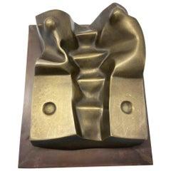 """Ciborio"" Bronze Sculpture Signed Luigi Mazzella"