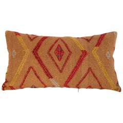 Cicim Pillow Case Fashioned from an Anatolian Cicim Cover, Early 20th Century