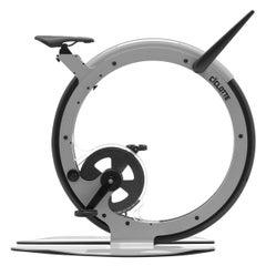 Ciclotte Bike in Grey Steel by Luca Schieppati