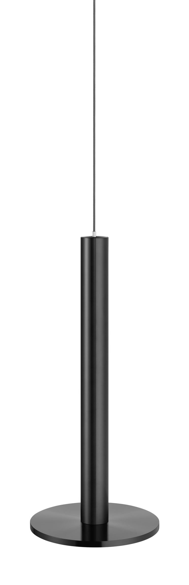 Modern Cielo XL Pendant Light in Satin Black by Pablo Designs For Sale