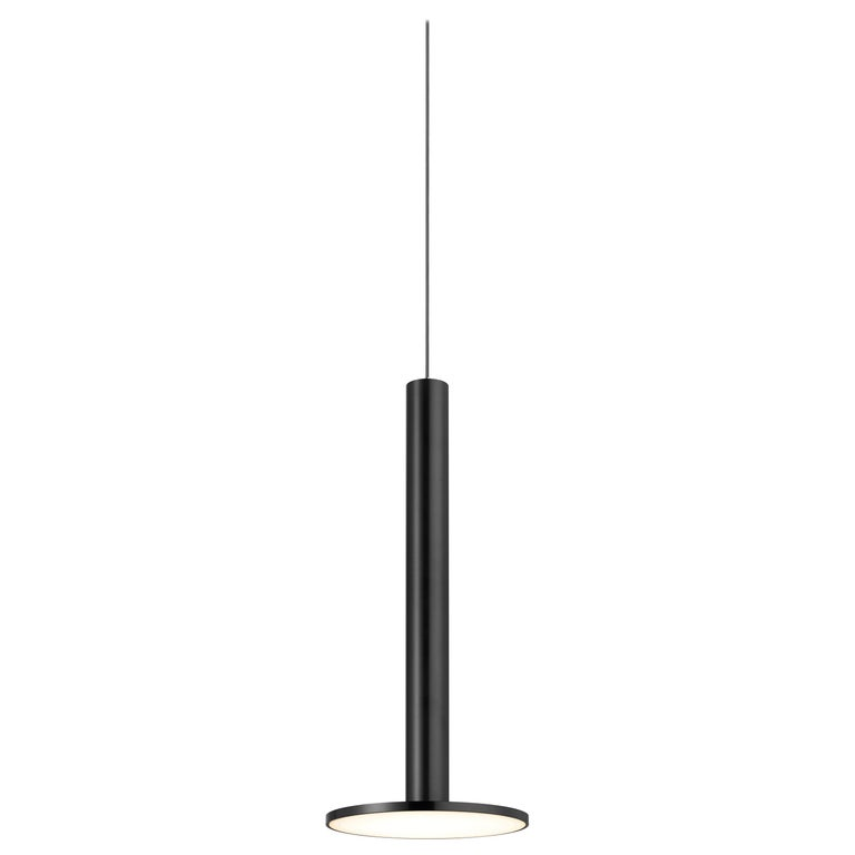 Cielo XL Pendant Light in Satin Black by Pablo Designs For Sale