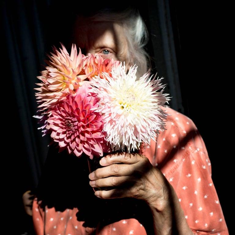Cig Harvey Color Photograph - Dahlias
