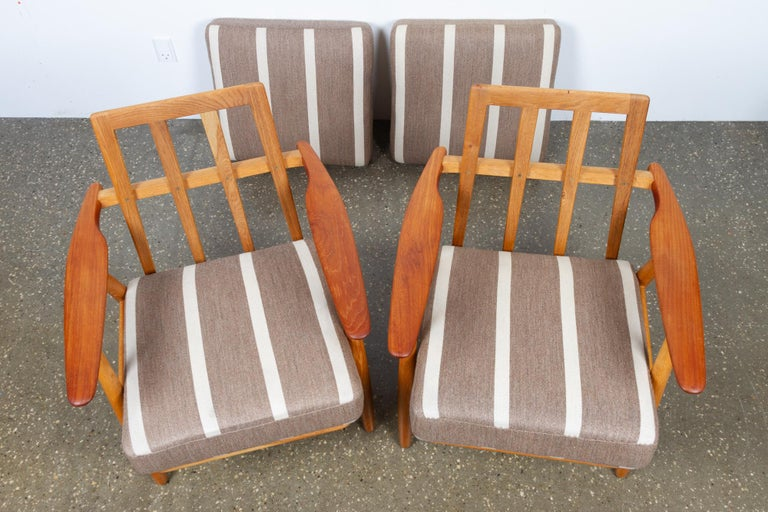 Cigar GE-240 Easy Chairs by Hans J. Wegner 1950s, Set of 2 For Sale 6