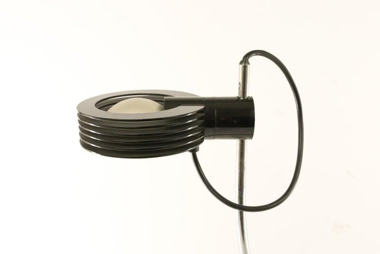 Italian Cigno Halogen Table Lamp by Iguzzini, 1970s For Sale