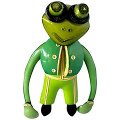 Cilea Paris Grenouille Frog Pin
