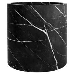 Black marble jumbo Cylinder