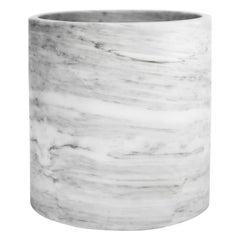 White marble extra large Cylinder
