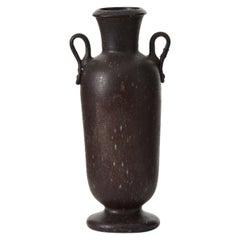 Cimbro Bormioli Blown Glass Vase for S.A.V., Italy, C1930