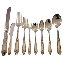 Cinderella by Gorham Sterling Silver Flatware Set for 12 Service 109 Pieces