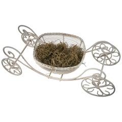 Cinderella Carriage Garden Planter